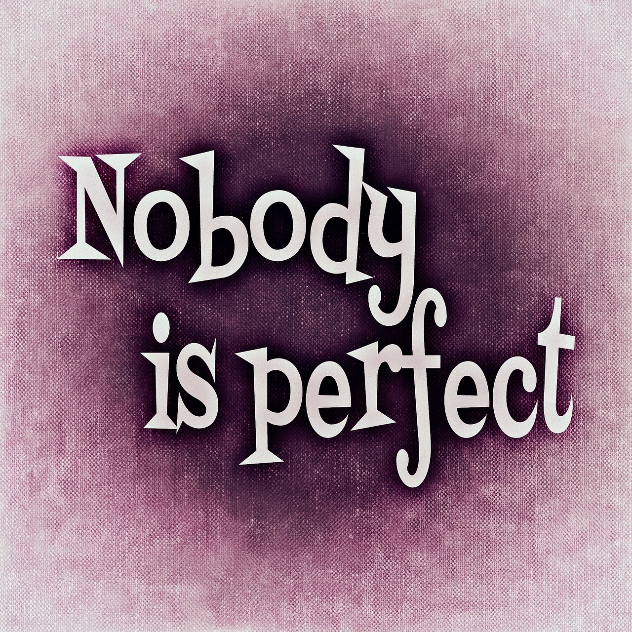 nobody-is-perfect-688366_1280